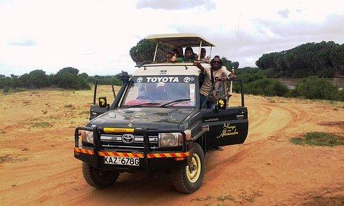 In Kenya con Alessandro