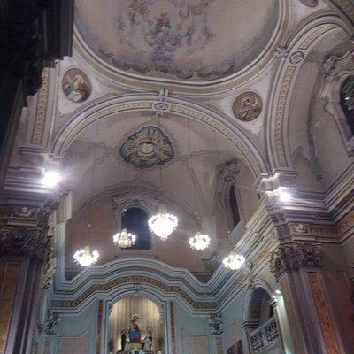 Interno delazione Chiesa nel giorno dei festeggiamenti della Titolare