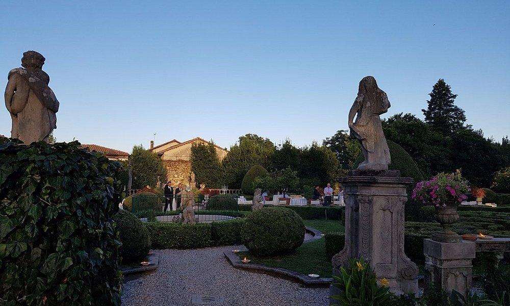 Villa de Claricini Dornpacher - il giardino
