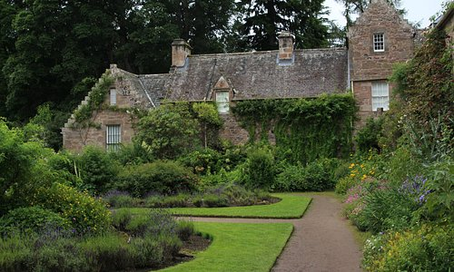 One of the gardens at Cawdor Castle