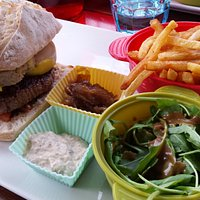 Burger foie gras maison