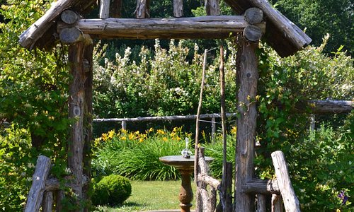 Loved this entrance to one of the gardens