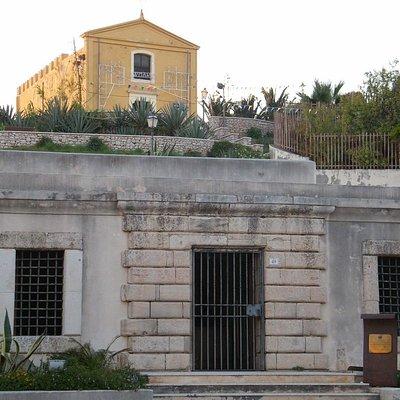 """La facciata del Museo Ican """"Domenico Ryolo"""""""