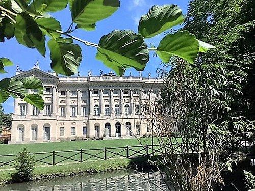 Milano, Giardini di Villa Reale (agosto 2016): la Villa