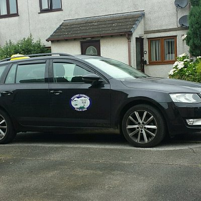 Cm taxis - Ulverston taxi service (photo of one of our taxis)