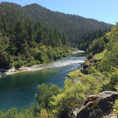 South Fork of Smith River seen from South Fork Rd.