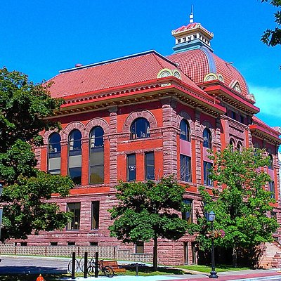 Old courthouse on the main drag