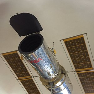 1/5 size model of the Hubble