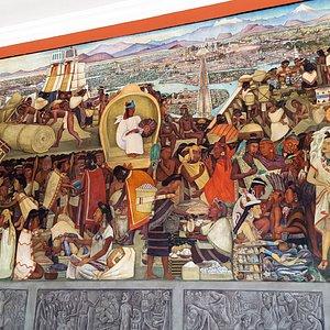 murales en el Palacio Nacional