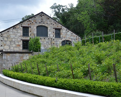 Historic winery & museum building.