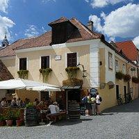 Mitten in Dürnstein gelegen mit einem gemütlichen Ambiente