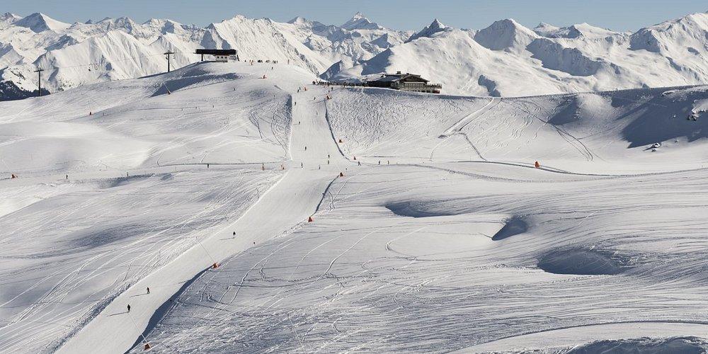 Tirols fantastiske hvide landskab