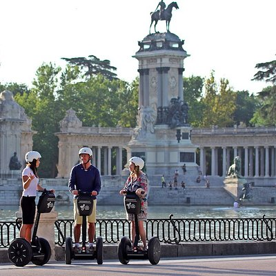 Retiro Lake - Madrid Segway Tour