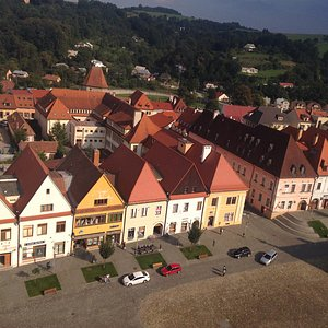 Nice houses, historic square