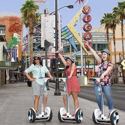 Fun in Downtown Las Vegas! - - JAKE'S EXCURSIONS LAS VEGAS SEGWAY TOURS