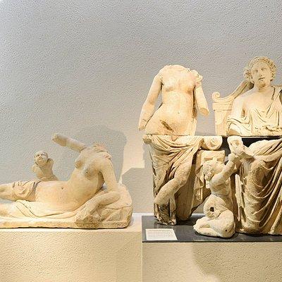 Les statues de Genainville, site gallo-romain du département
