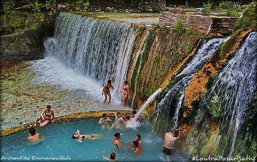 Thermal Spring Loutra Pozar