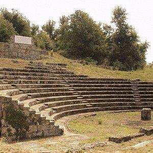 il teatro antico di Tuscolo