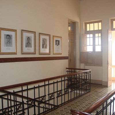 Detalhe do interior do seminário ao lado da Basília de Diamantina - MG
