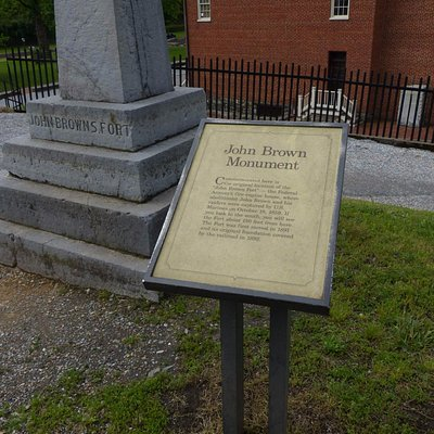 John Brown Monument - sign