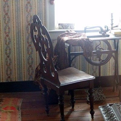Harper House - sewing machine