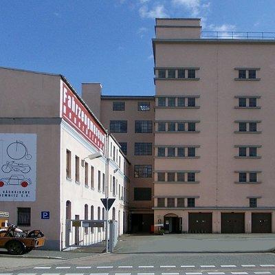 Fahrzeugmuseum in ehemaligem Sterngaragenhof
