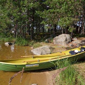 It is easy to row from Padasjoki to Kalainsaari Island