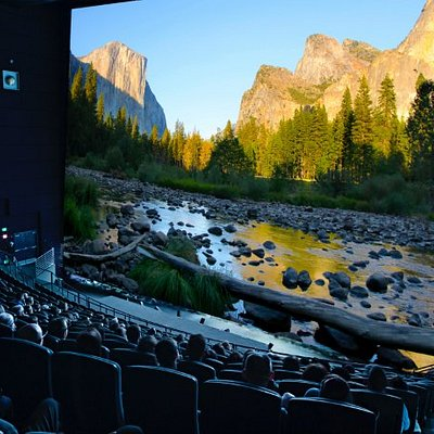 Johnson IMAX Theater playing National Parks Adventure