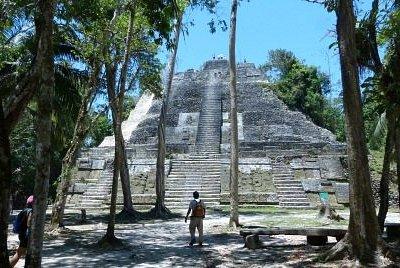 Lamanai Temple