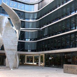 Erweiterungsbau der Siemens-Konzernzentrale