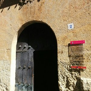 Entrance to Palacio de los Aguila