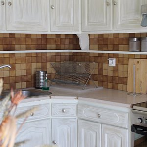 Part of kitchen in 3BRM apartment, 1st flr, Lefkas City Apartments