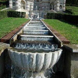 Belvedere Superiore e Cascatella della Naiade