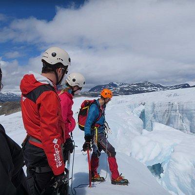 Second Ice Falls