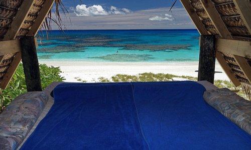 Sleep out on the beach