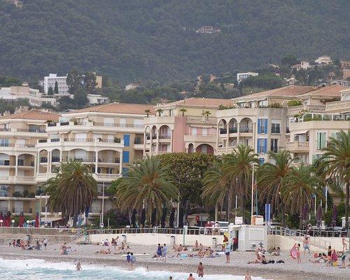 Menton panorama from Fossan beach