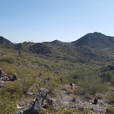 Fantastic view from the pass on Trail #8. Only 30 minute hike from 40th Street entrance.