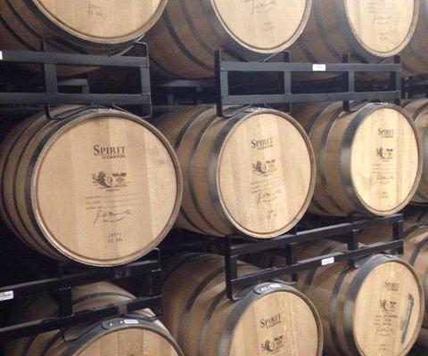 Whiskey Barrels performing magic