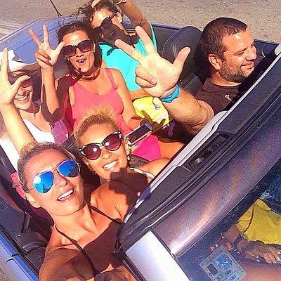 Belgrade Cabrio Experience crew