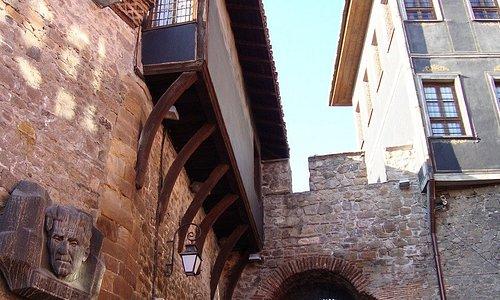 Hisar Kapia Gate (2000 years old)..