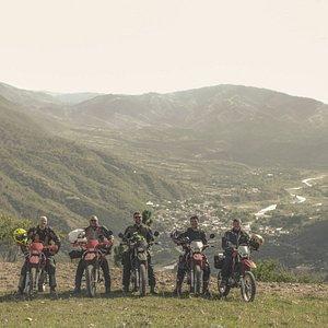 Riding up to the Cuchumatanes mountain range
