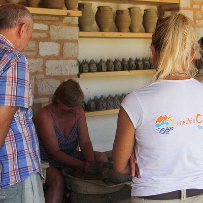 Cretan stories excursion by checkincreta travel agency !!