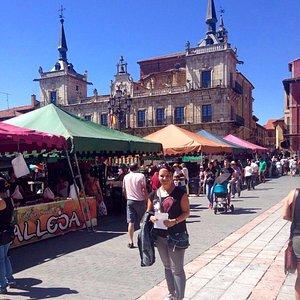Mercado de  la Plaza Mayor