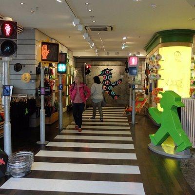Das Ampelmännchen im Shop