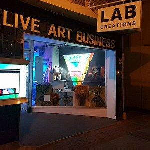 """Lab - Live Art Business, Le Soir, C'est L""""Expérience à Voir, seulement à Magog!"""