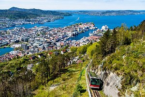 Funicular and view