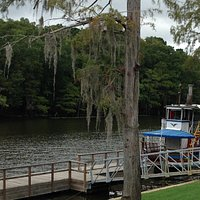 The old paddle boat no longer in use