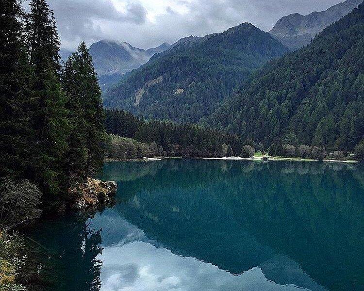 Uno scorcio del Lago Anterselva