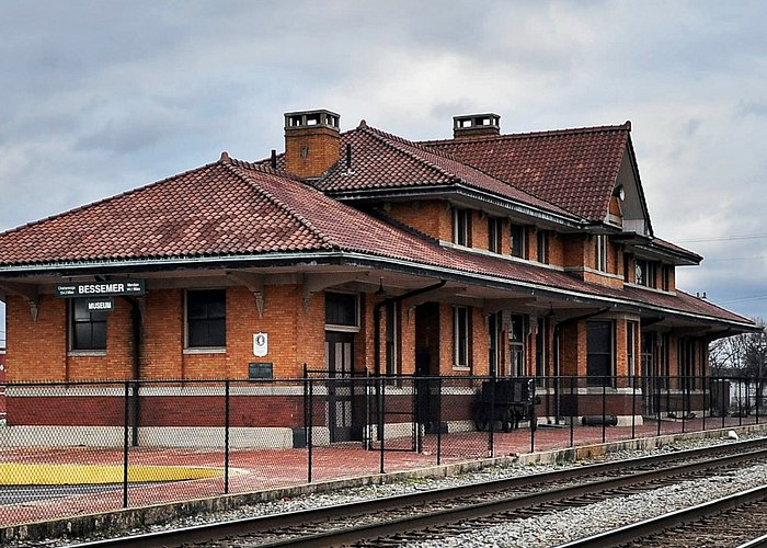 The Bessemer Hall of History Museum is located in The Historic Southern Railroad Depot.