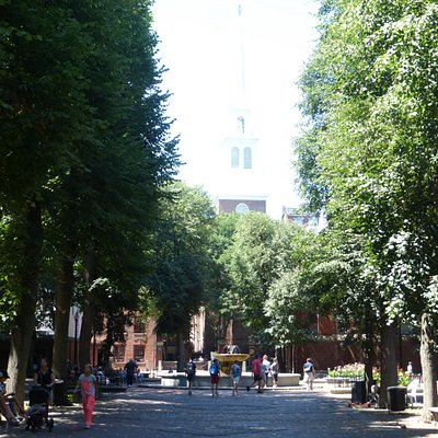 The Mall Looking Towards North Church